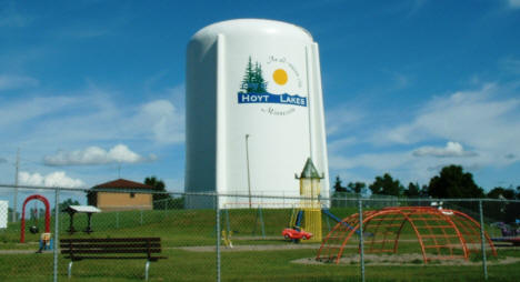 Hoyt Lakes Water Tower