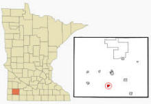 Location of Iona, Minnesota