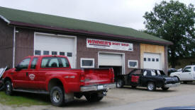 Wimmers Body Shop, Littlefork Minnesota