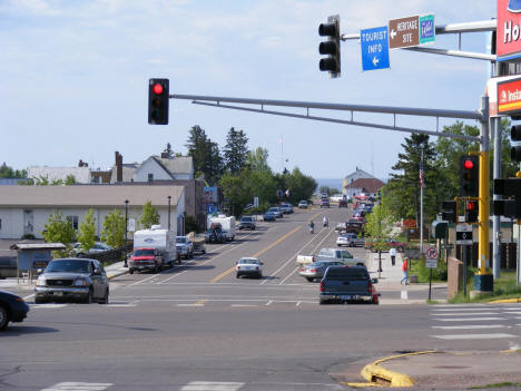Broadway looking South from Highway 61, 2007