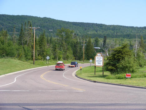 Start of the Gunflint Trail, Grand Marais Minnesota, 2007