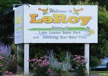 Welcome to LeRoy Minnesota