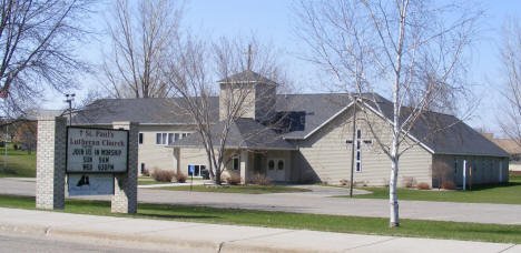 St. Paul's Lutheran Church, Melrose Minnesota, 2009