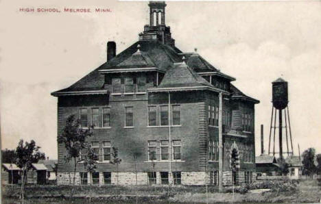 High School, Melrose Minnesota, 1912