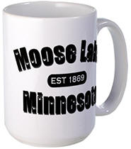 Moose Lake Established 1869 Large Mug