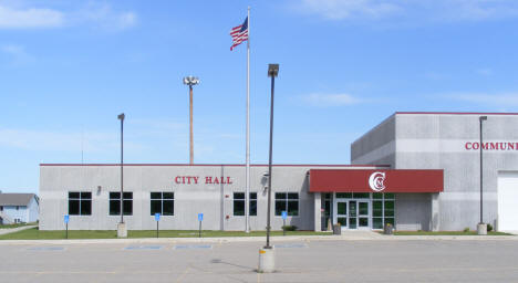 City Hall and Community Center, Morristown Minnesota,  2010