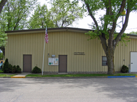 City Hall, Northrop Minnesota, 2014