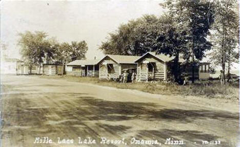 Mille Lacs Lake Resort, Onamia Minnesota, 1920's
