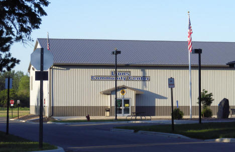 Lions Community Center, Onamia Minnesota, 2007