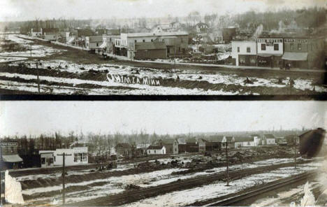 General views, Onamia Minnesota, 1909