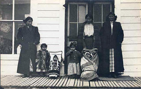 Chippewa Indians at Onamia Minnesota, 1909