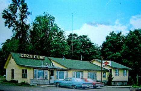 Cozy Cove Resort and Store, Onamia Minnesota, 1960's