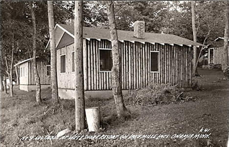 West Shore Resort on Lake Mille Lacs, Onamia Minnesota, 1939