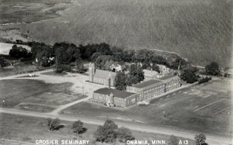 Crosier Seminary, Onamia Minnesota, 1930's?