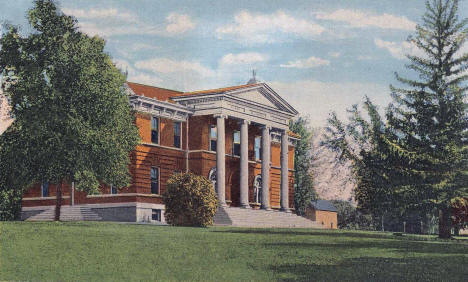 Music Hall, Pillsbury Academy, Owatonna Minnesota, 1949