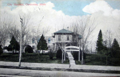 City Hospital, Owatonna Minnesota, 1909