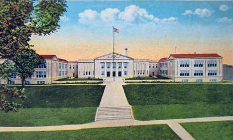 New High School, Owatonna Minnesota, 1921