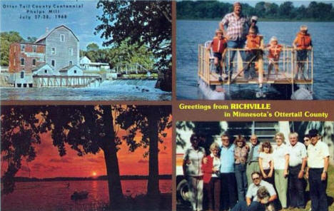 Greetings from Richville Minnesota, 1968