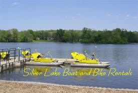 Silver Lake Boat and Bike Rentals, Rochester Minnesota