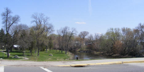 Park and Sauk River, Sauk Centre Minnesota, 2009