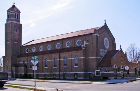 Our Lady of Angels Catholic Church, Sauk Centre Minnesota, 2009
