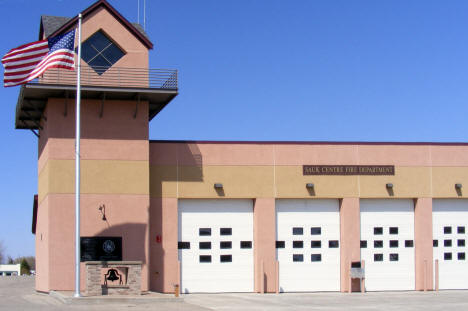 Sauk Centre Fire Department, Sauk Centre Minnesota, 2009
