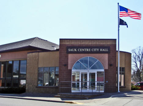Sauk Centre City Hall, Sauk Centre Minnesota, 2009