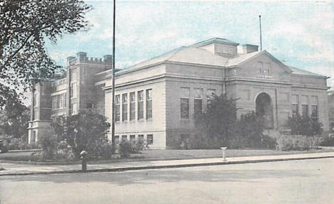 Library and Junior High School, Sauk Centre Minnesota, 1947