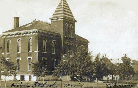 High School, Sauk Centre Minnesota, 1906