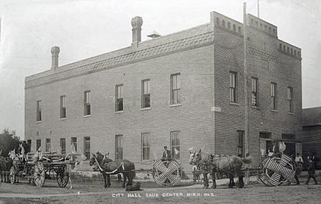 City Hall, Sauk Centre Minnesota, 1910