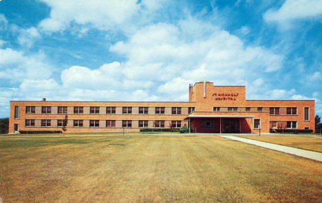 St. Michael's Hospital, Sauk Centre Minnesota, 1960's