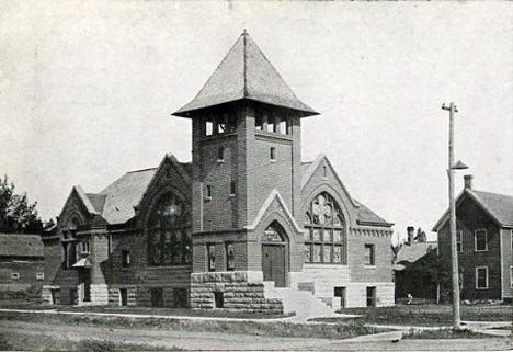 Congregational Church, Sauk Centre Minnesota, 1920's?