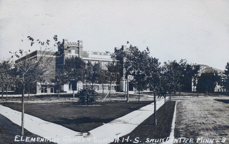 Elementary and Junior High School, Sauk Centre Minnesota, 1920