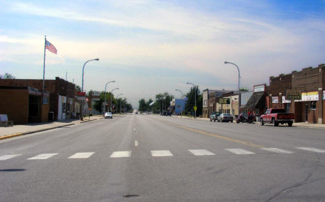 Street View , Downtown Sebeka Minnesota, 2007