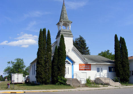 Former church, now a taxidermy studio, Sebeka Minnesota 2007