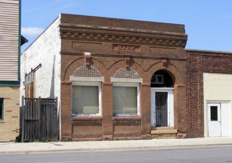 Old Bank Building, Sebeka Minnesota, 2007