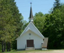 Centennial Lutheran Church, Squaw Lake Minnesota