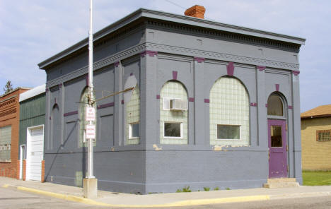 Former bank building, Stephen Minnesota, 2008