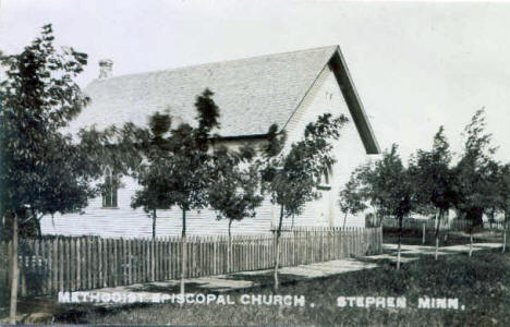 Methodist Episcopal Church, Stephen Minnesota, 1915