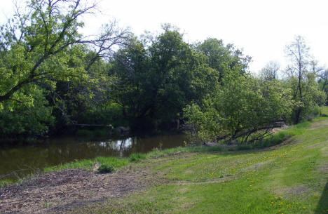 River scene in park, Stephen Minnesota, 2008