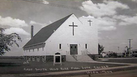 First South Wild Rice Evangelical Lutheran Church, Ulen Minnesota, 1950's