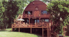 Lodge at Hoot Owl Resort, Waubun Minnesota