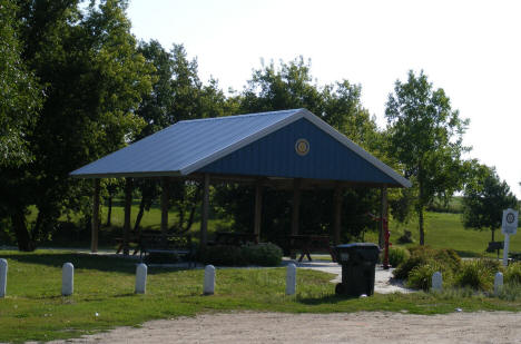 Shelter in City Park, West Union Minnesota, 2008