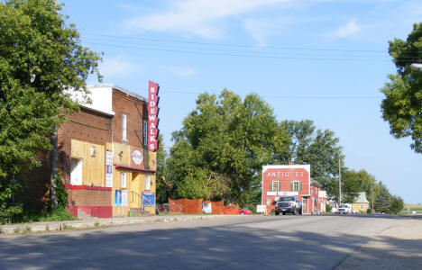 Street scene, West Union Minnesota, 2008