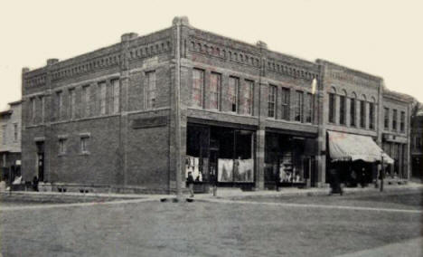 Corner of Carver and 2nd Street, Winthrop Minnesota, 1906