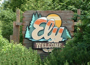 Ely Welcome Sign
