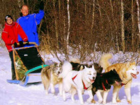 Wintergreen Dogsled Lodge, Ely Minnesota