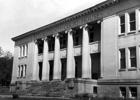 Cook County Courthouse, Grand Marais Minnesota, 1937