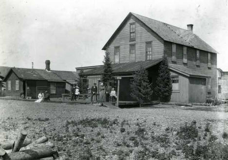 House in Grand Marais Minnesota, 1911
