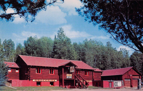 Hunters Trading Post, Crane Lake Minnesota, 1960's